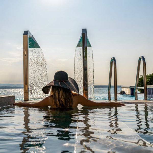 The thermal water of Sirmione: Hotel Ocelle Thermae & SPA