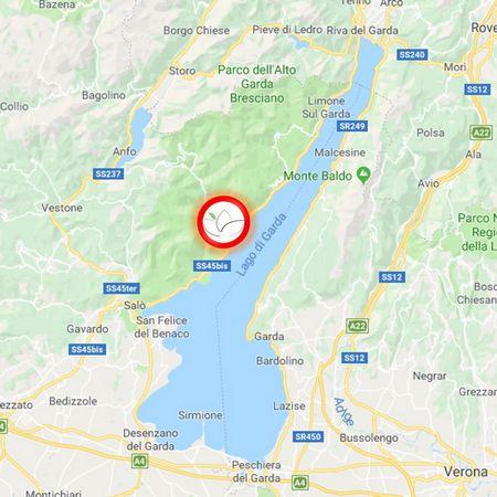 Lago Di Garda Cartina Fisica.Hotel Spa Di Lusso Sul Lago Di Garda Lefay Resort Spa